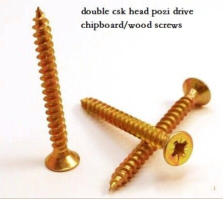Coarse Or Fine Thread Chipboard Flooring Screws , Self Tapping Sheet Metal Screws