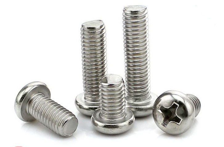 A2 - 80 Plain Philips Drive Round Washer Head Machine Screw M2.5mm X 6mm - M10 X 200mm