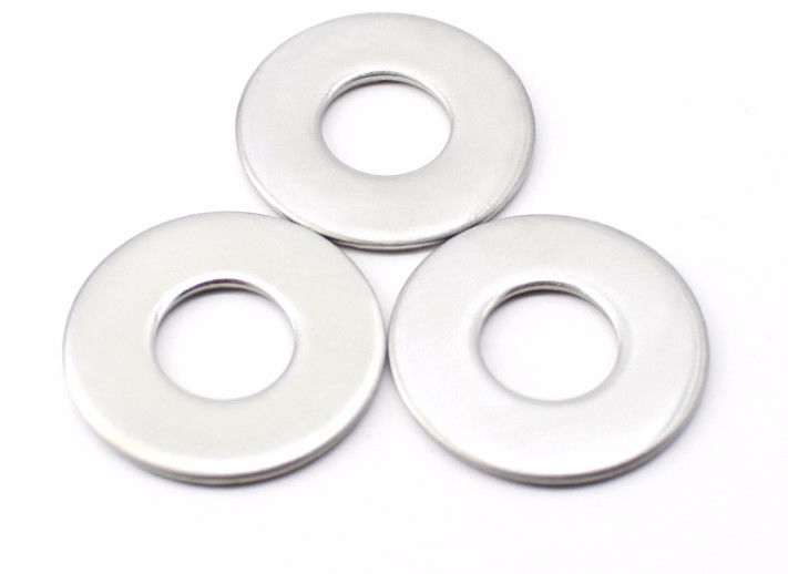 DIN125 DIN9021 M3- M100 Stainless Steel Flat Washers For Fastener Connection